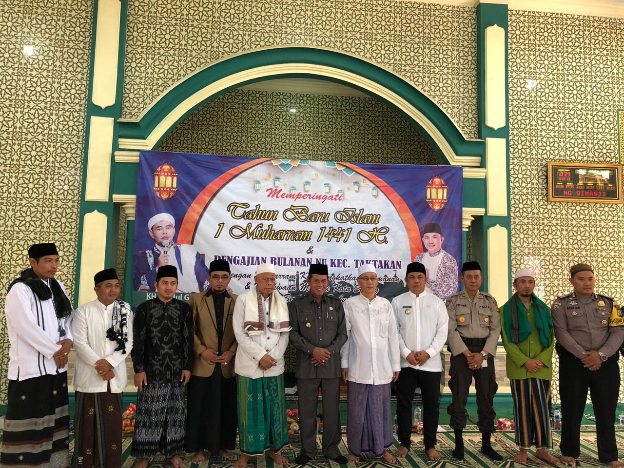 Kecamatan Taktakan Memperingati Tahun Baru Islam 1 Muharram 1441 H.