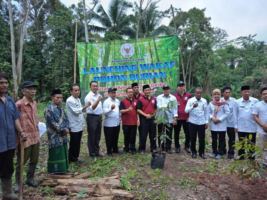 Launching Wakaf Pohon Durian