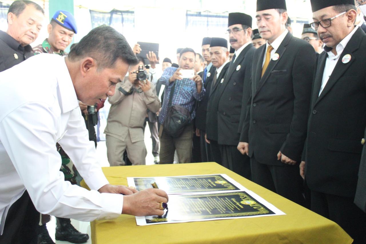 Walikota Serang Kukuhkan LP4 Kota Serang